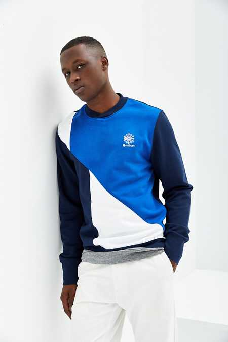 Reebok Retro Fleece Crew Neck Sweatshirt