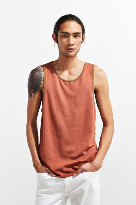 CPO Ribbed Ringer Tank Top