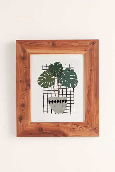 Seventy Tree Monstera Art Print