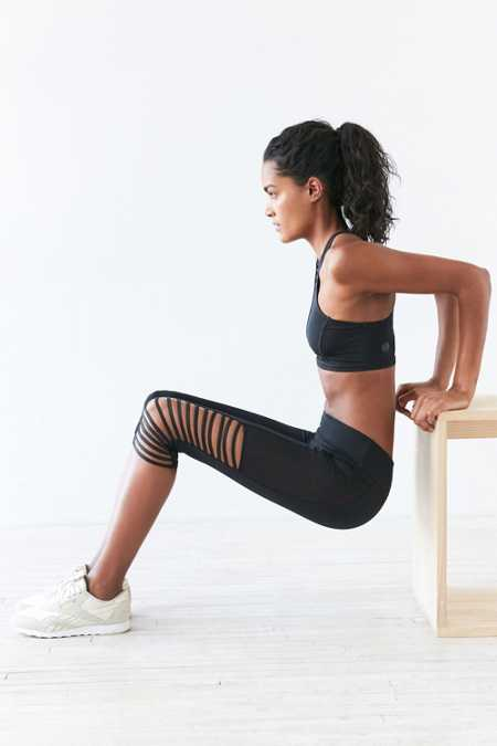Without Walls Splice Knee Cropped Legging