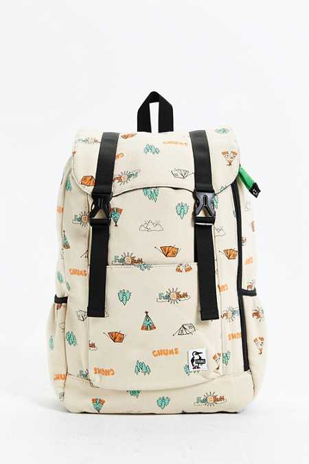Chums Flap Day Sweat Backpack