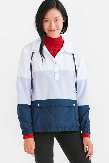 Columbia Harbor-Side Pullover Windbreaker Jacket