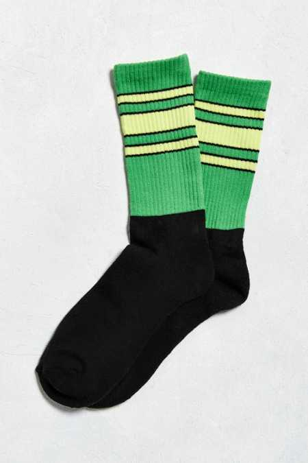 Stripe Colorblock Sock