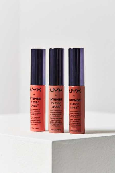NYX Intense Butter Lip Gloss Set