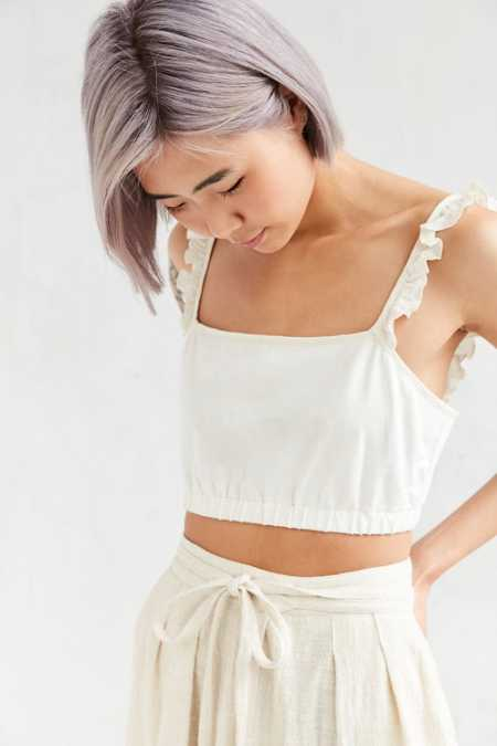 Kimchi Blue Kendall Cropped Top