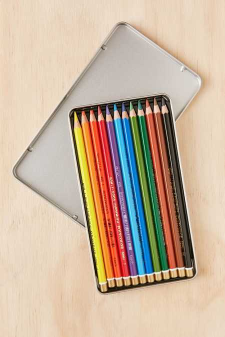 Colored Pencil Tin Set