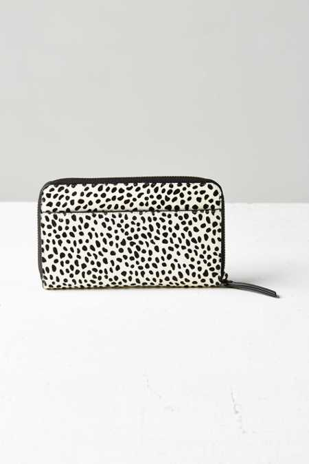Status Anxiety Delilah Calf Hair Wallet