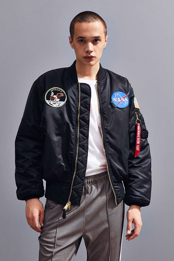 c5209e4b1 ALPHA INDUSTRIES NASA MA-1 BOMBER JACKET - URBAN OUTFITTERS on The Hunt