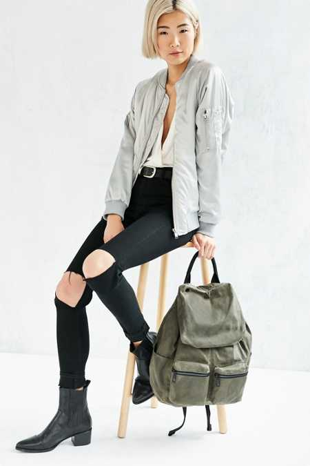 Canvas Army Backpack
