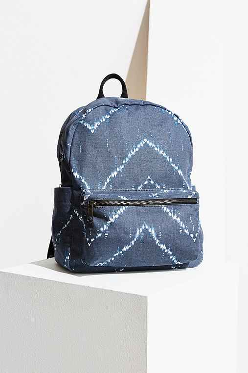 BDG Classic Canvas Backpack,BLUE MULTI,ONE SIZE
