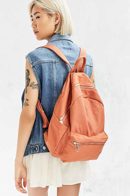 BDG Classic Canvas Backpack,CORAL,ONE SIZE