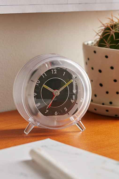 Clear Desk Clock,CLEAR,ONE SIZE