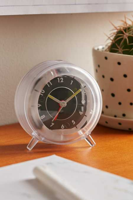 Clear Desk Clock