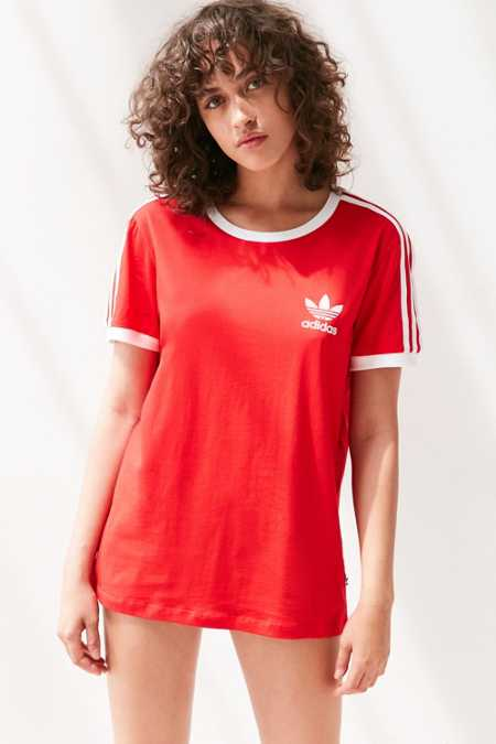 adidas Originals 3-Stripe Ringer Tee