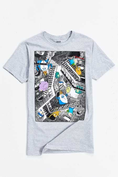 Adventure Time Escher Tee
