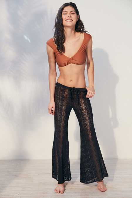 BOG Collective Crochet Beach Pant