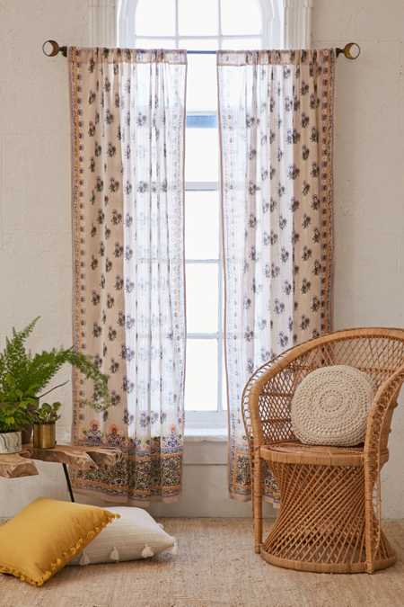 Aveline Floral Curtain