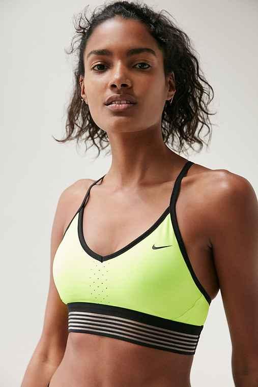 Nike Pro Indy Cool Sports Bra,YELLOW,M