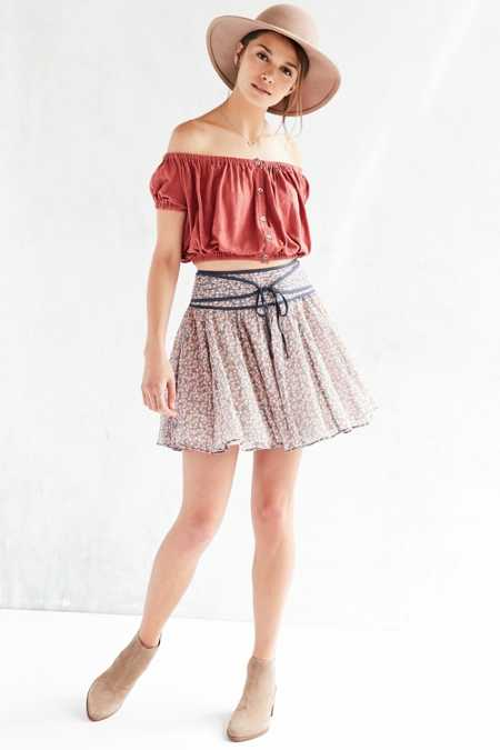 Ecote Mulan Mini Circle Skirt