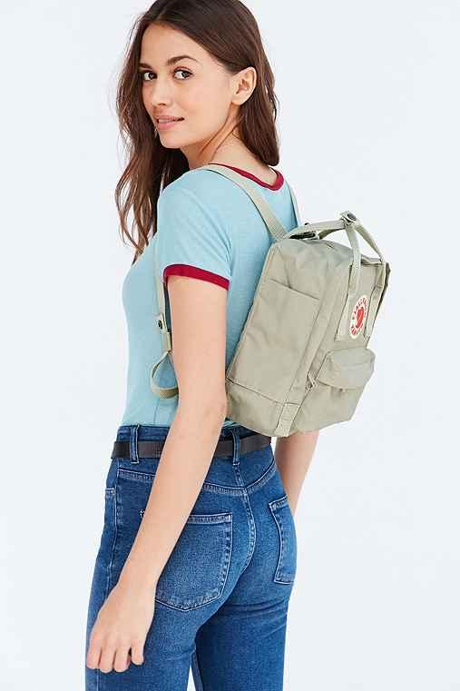 Fjallraven Kanken Mini Backpack,NEUTRAL MULTI,ONE SIZE