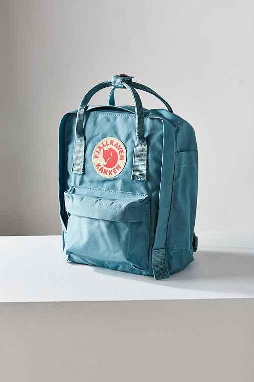 Fjallraven Kanken Mini Backpack,SKY,ONE SIZE