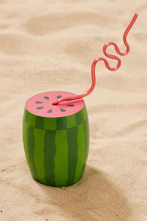 Watermelon Sipper Cup,GREEN,ONE SIZE