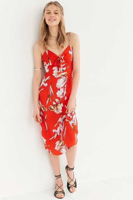 MINKPINK Tangerine Dream Midi Dress