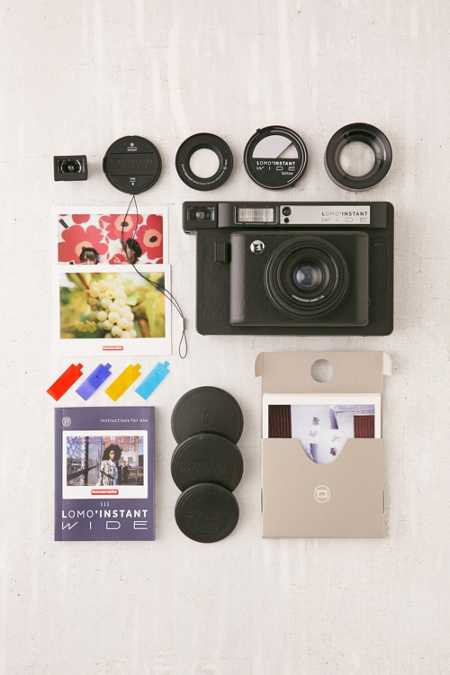 Lomography Lomo'Instant Wide Camera - Black