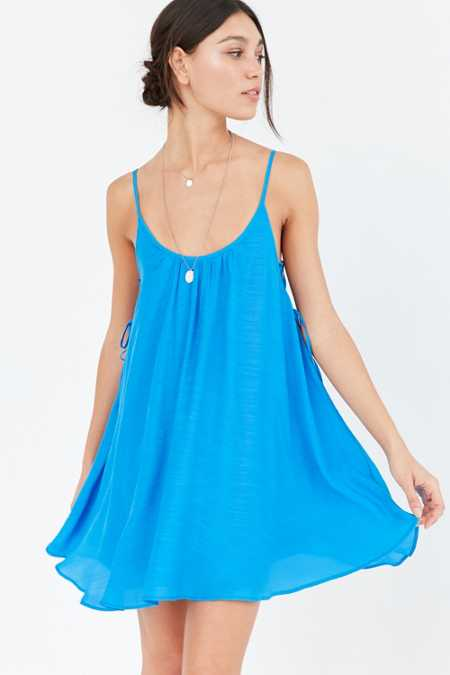Kimchi Blue Lace-Up Side Mini Dress