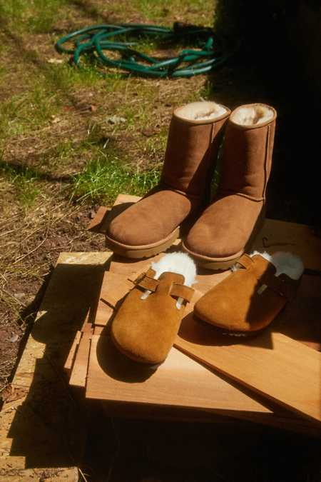 Birkenstock Shearling Boston Clog