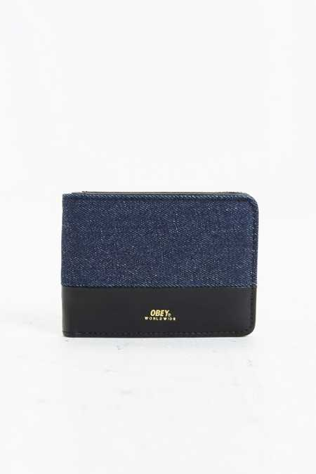 OBEY Gentry Denim Wallet