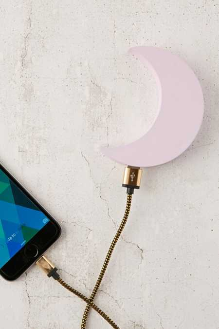 Pink Moon Portable Power Charger