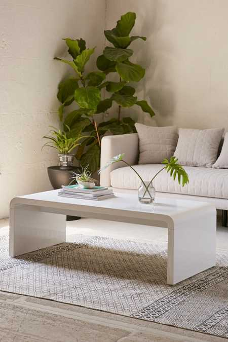 Hamilton Curved Coffee Table