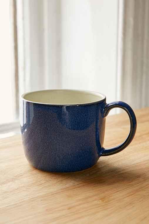 UO Essential Latte Mug,BLUE,ONE SIZE