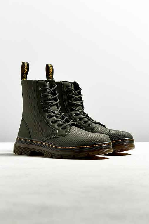 Dr. Martens Combs Boot,OLIVE,9