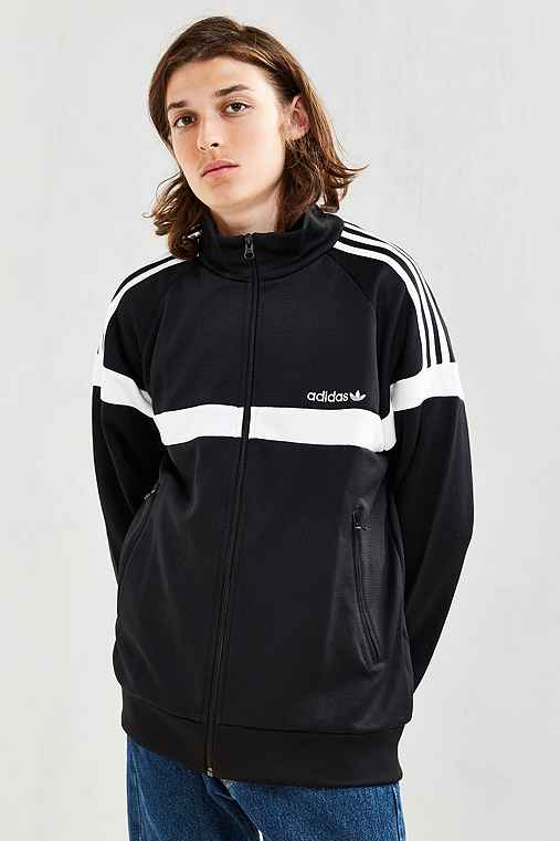 adidas + UO Itasca Track Jacket,BLACK,M