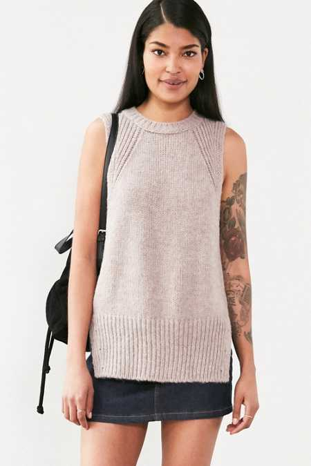 Silence + Noise Outsider Tunic Sweater Top