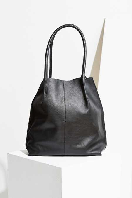 Kimchi Blue Hillary Leather Tote Bag