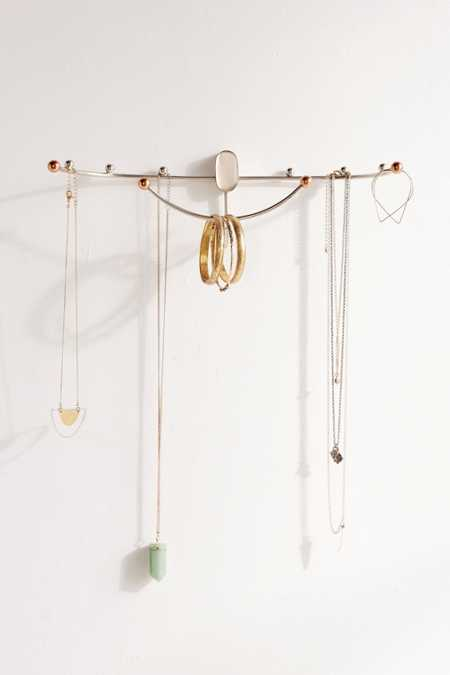 Beth Curved Hanging Jewelry Organizer