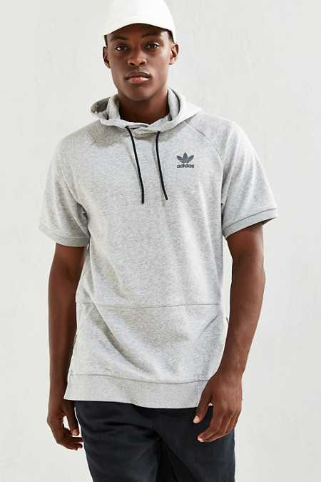 adidas Adicolor Fashion Short-Sleeve Hoodie Sweatshirt