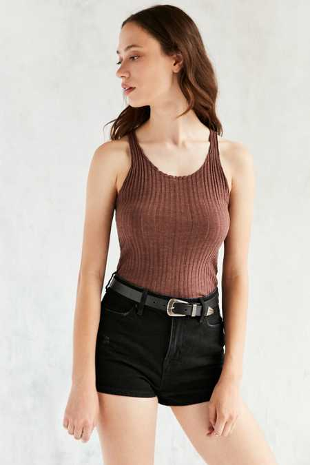 Project Social T Tanner Ribbed Knit Tank Top