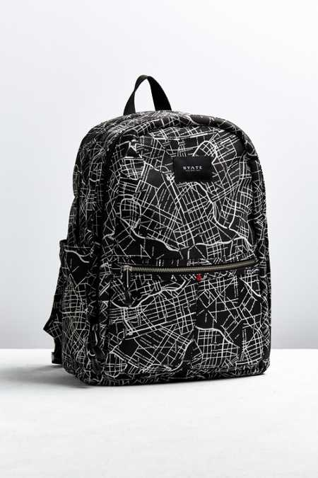 STATE Bags The Bedford Map Backpack