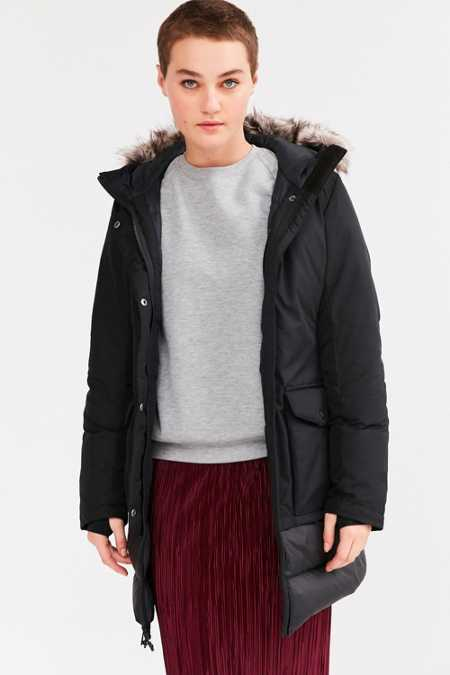 The North Face Tuvu Faux Fur Trim Parka