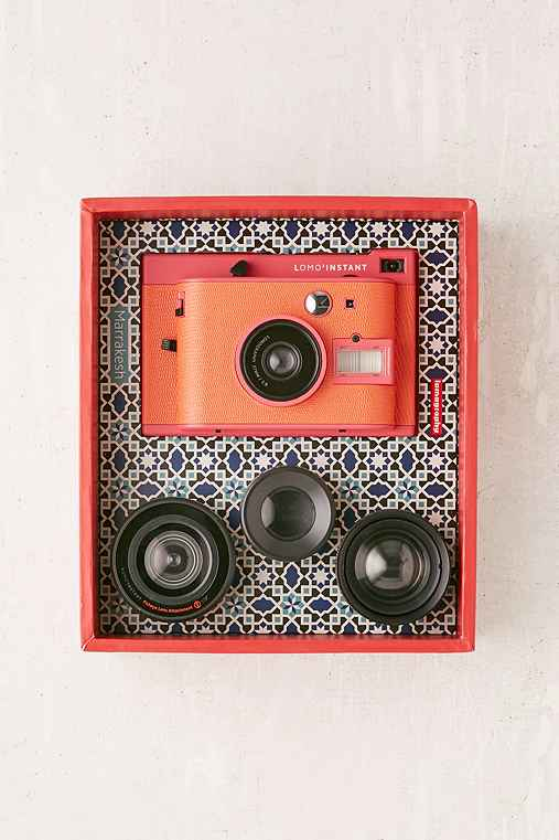 Lomography Lomo'Instant Marrakesh Edition Camera,PINK,ONE SIZE