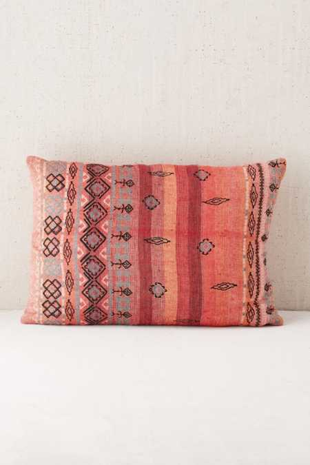 Agda Printed Yarn Pillow