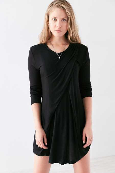 The Fifth Label Stop Start Long-Sleeve Mini Dress