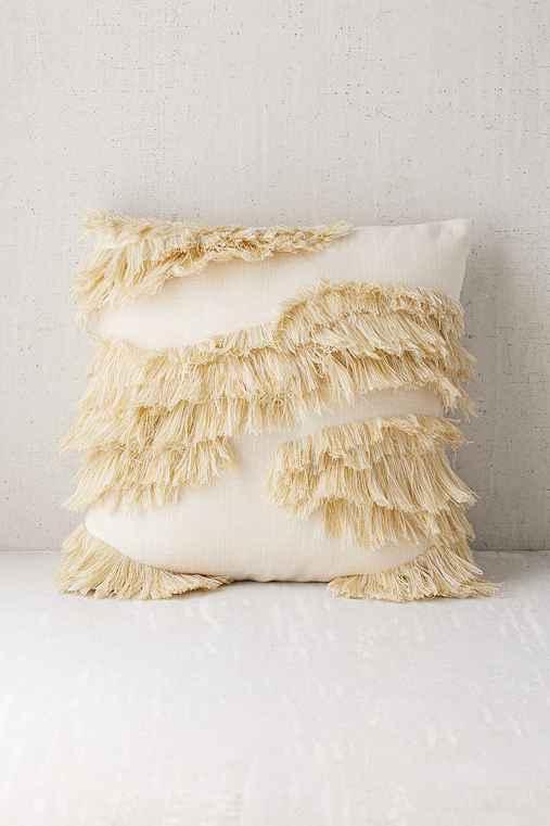 Stevie Shag Pillow,CREAM,18