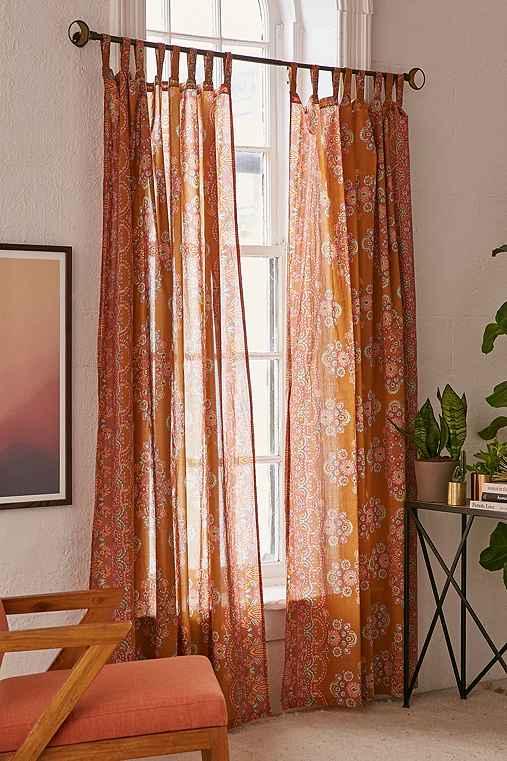 Tamara Curtain,MUSTARD,52X84