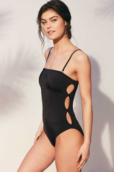Out From Under Kala Convertible Keyhole Side One-Piece Swimsuit
