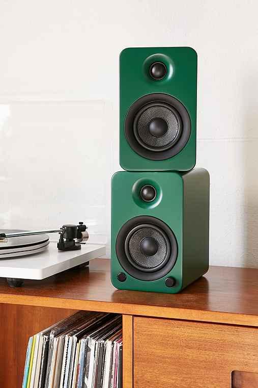 Kanto YU3GT Powered Desktop Speakers,GREEN,ONE SIZE